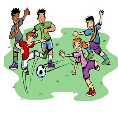 My Favourite Game Football Soccer Class3 English Essay